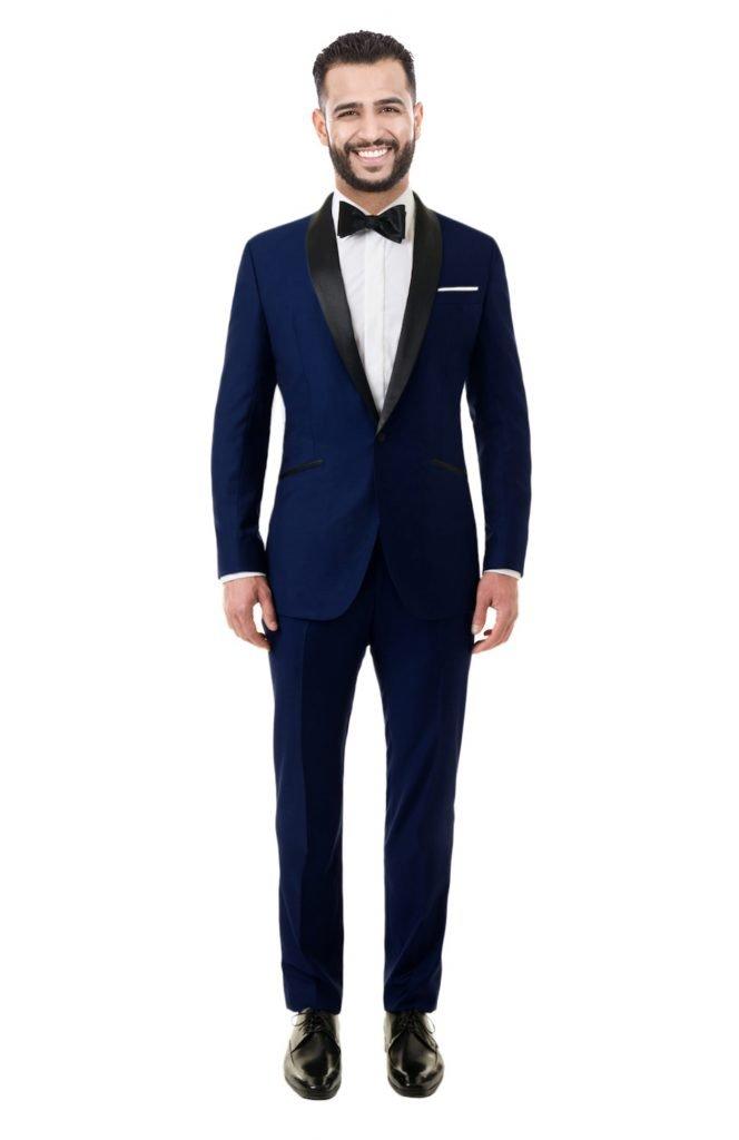 costume mariage blue sur mesure Tailored paris catalogue des costumes Élégant