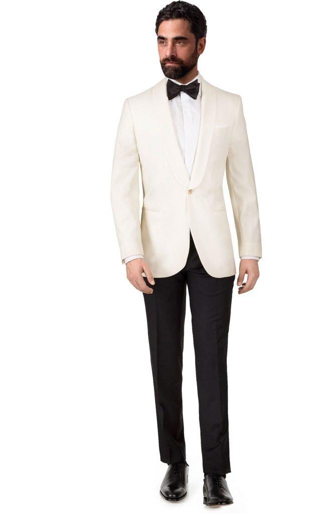 costume mariage white sur mesure Tailored paris catalogue des costumes Élégant